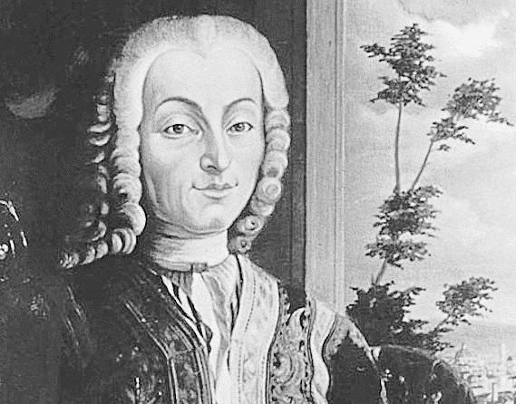 Black and white image Bartolomeo Cristofori